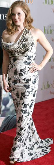 Amy adams carolina herrera gown