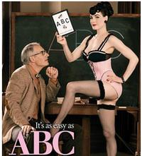 Dita von teese lingerie school