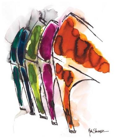 Shoe illustration mark schwartz