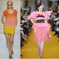 Ombre fashion trend