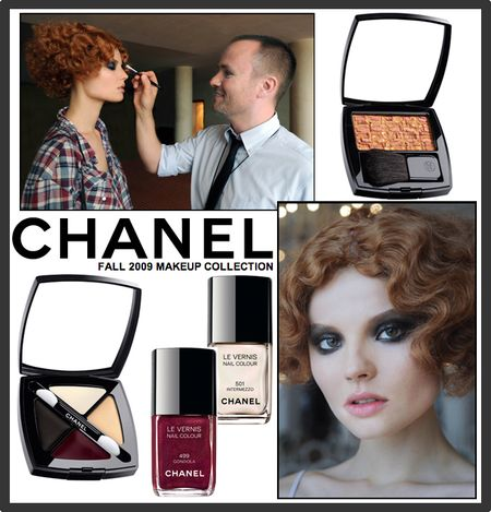 Chanel fall 2009 makeup