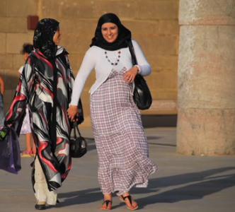 Moroccan djellaba kaftan robe