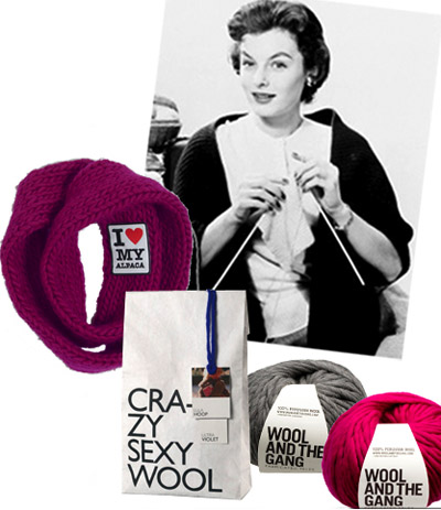 Fashion knitting kits