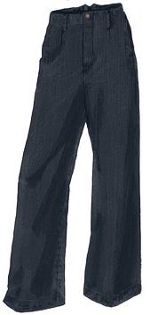 Wide leg denim pants jeans