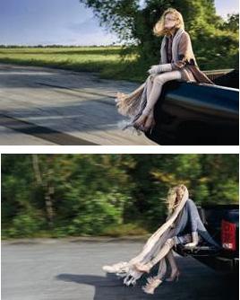 Missoni fall 2009 ad campaign
