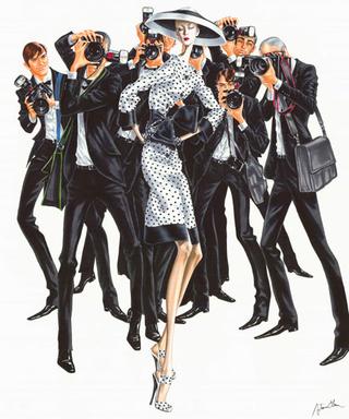 Fashionista fashion illustration