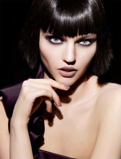 Giorgio Armani Fall 2009 Beauty: Smoky Shades of Greige - Fashion Blog | Fashion Tribes Blog