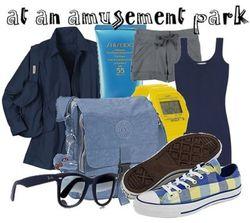 Amusement park fashion style