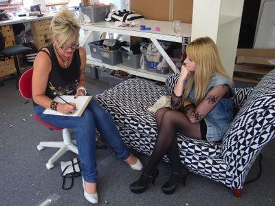 Mrs jones british stylist