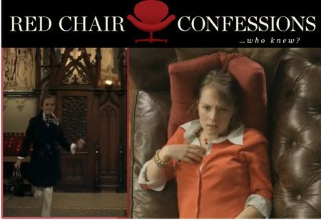 Red chair confessions