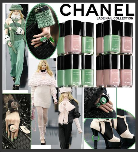 Chanel jade nail collection