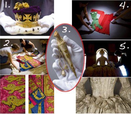 Royal fashion history
