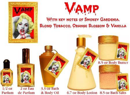 Vampire fragrance body oils
