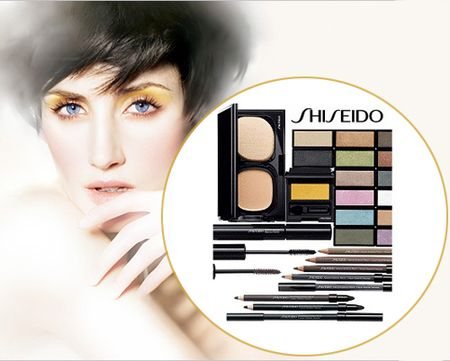Shiseido fall makeup