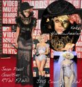 Lady gaga mtv vmas red carpet 2009