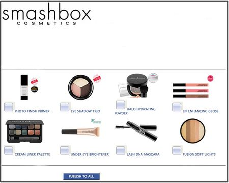 Smashbox on facebook