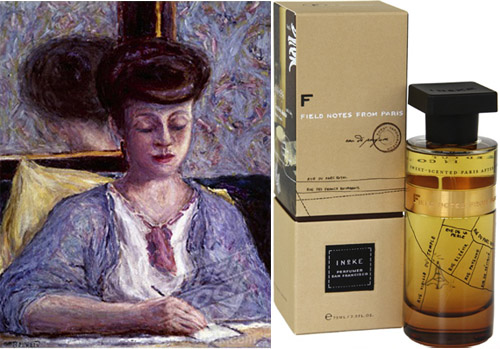 Field notes from paris ineke perfume fragrance