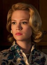 Betty draper hair style