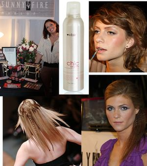 Portland fashion week hair makeup