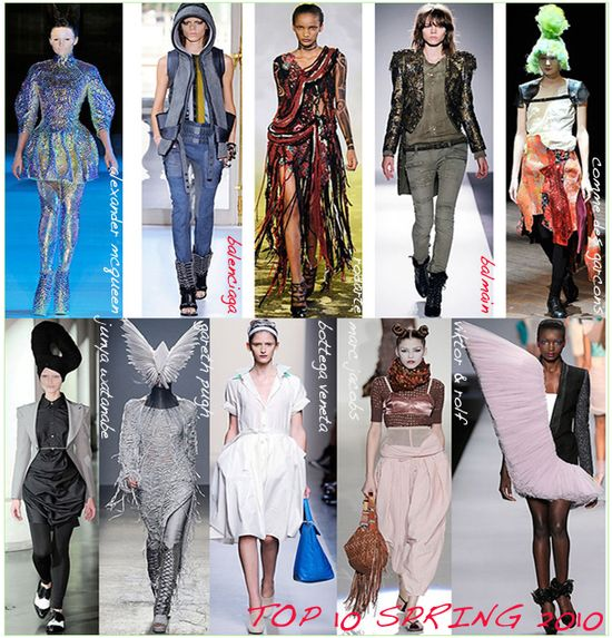 Spring 2010 top 10 collections