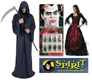 Spirit halloween costumes