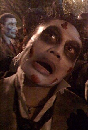 Nyc halloween parade zombie