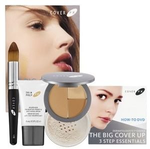 Cover fx lee graff skin perfecting kit