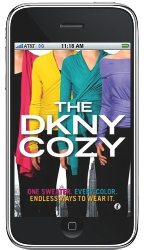 Donna karan dkny cozy iphone app application