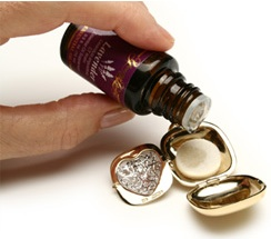 Scented locket aromawear