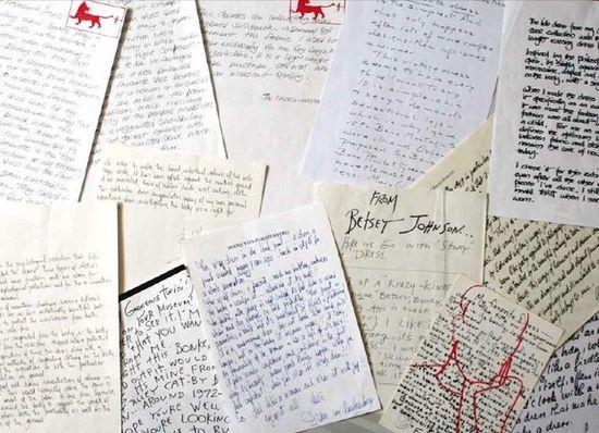 Designer letters my favorite dress