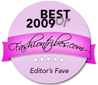 Fashiontribes editors fave awards 2009