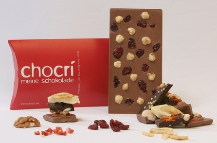 Chocri custom made chocolate bars