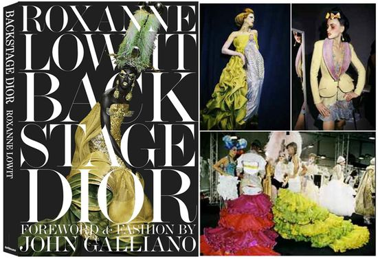 Roxane lowit john galliano dior backstage book