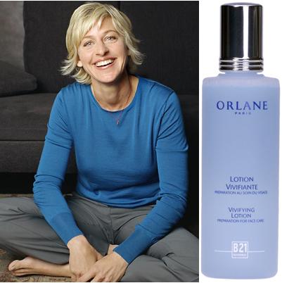 Ellen degeneres orlane toner lotion