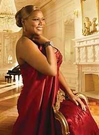 Queen latifah fragrance photo shoot