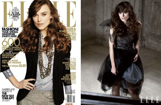 Keira knightley elle magazine cover