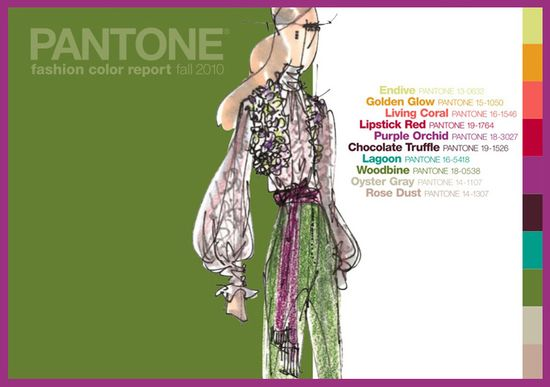Pantone color report fall 2010