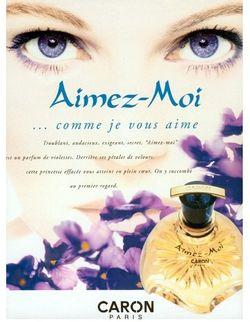 Aimez moi parfums caron