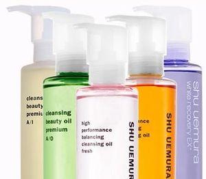 Shu uemura skin cleansing oil