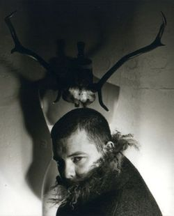 Alexander mcqueen under antler horns