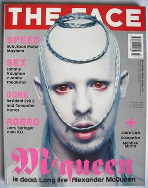 Alexander mcqueen nick knight the face