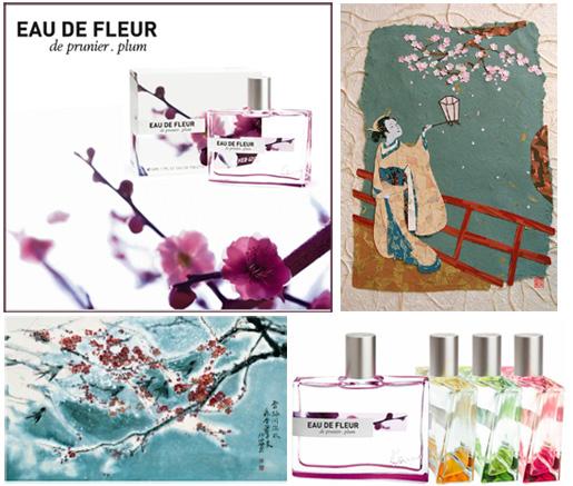 Kenzo eau de fleur plum fragrance