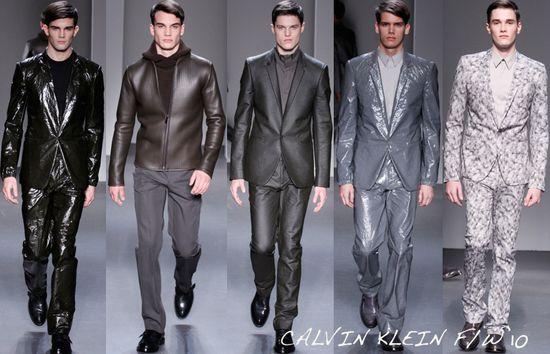 Calvin klein menswear fall 2010