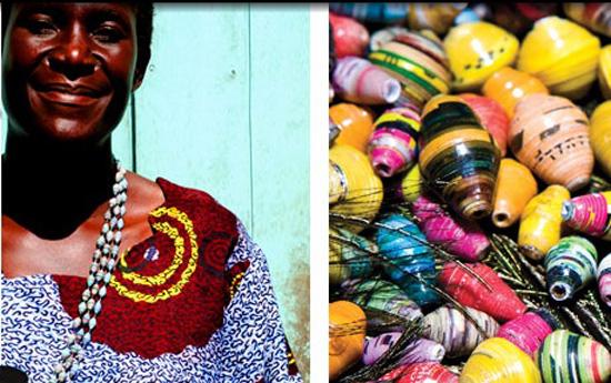 Uganda beads