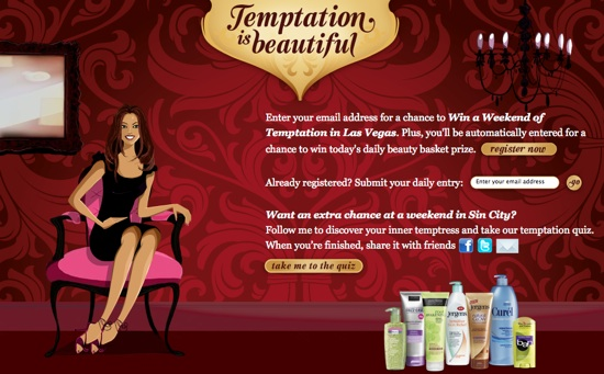 Temptation is beautiful beauty giveaway