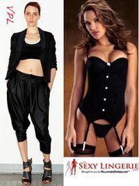 Sexy lingerie outwear vpl