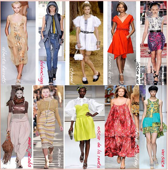 Spring 2010 top fashion collections