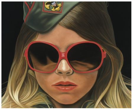 Richard phillips scout prop art