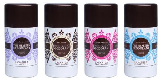 Lavanila healthy organic natural deodorant