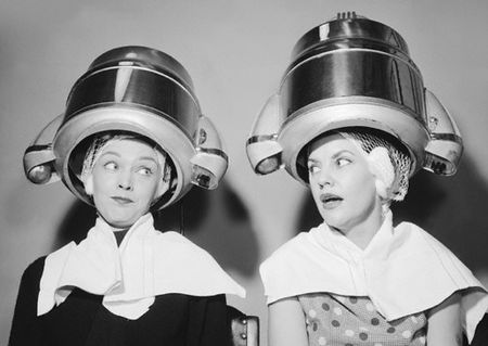 Women at the beauty parlor